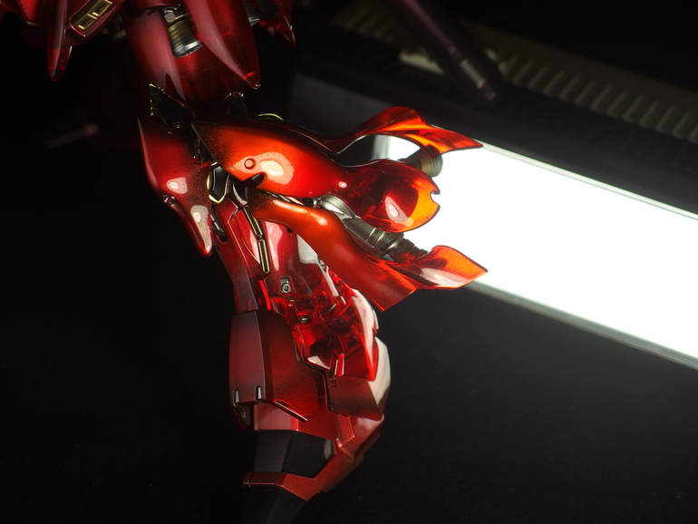 Purgatory RG Sinanju Red Candy Painted Build