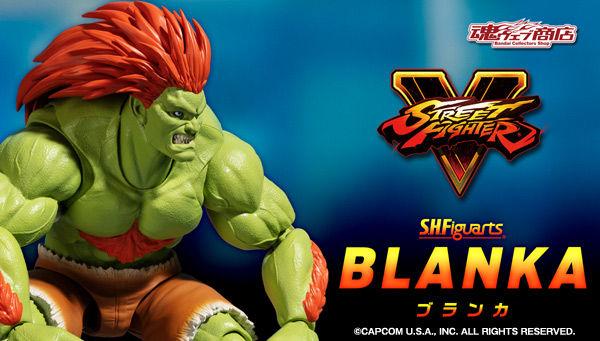 Bandai SHFiguarts STREET FIGHTER Blanka