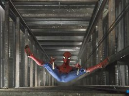 Spider-Man Fall Down