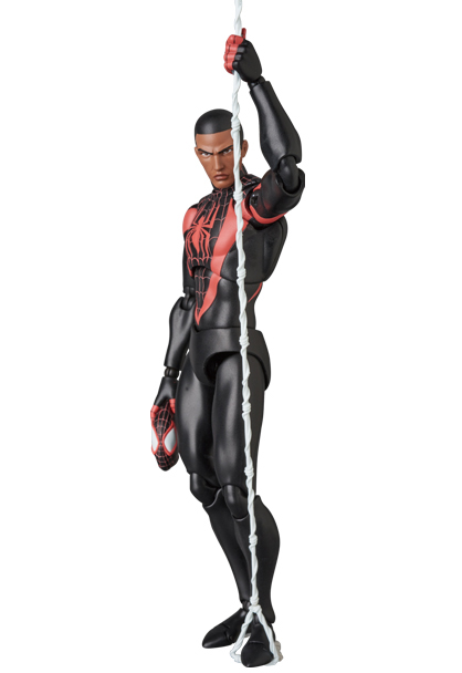 Mafex Spider-Man Miles Morales Action Figure