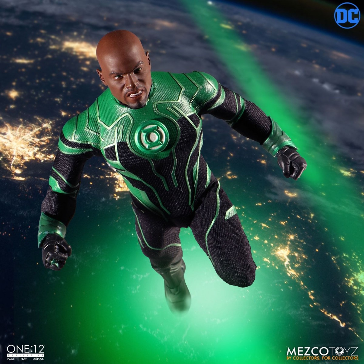 Mezco Toyz ONE12 COLLECTIVE John Stewart Green Lantern
