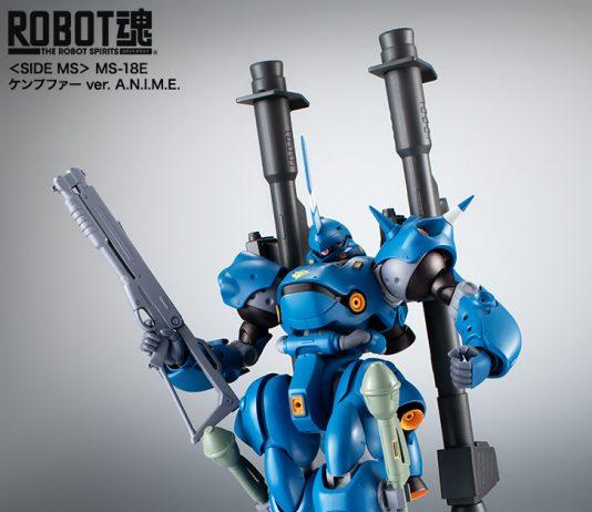 Robot Spirits MS-18E Kämpfer version anime
