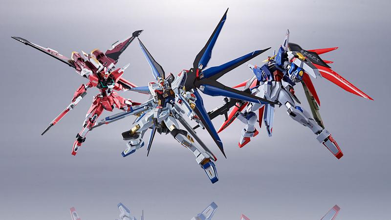 Bandai Metal Robot Spirits Destiny Gundam