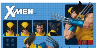 Mafex Action Figure Wolverine Comic Version