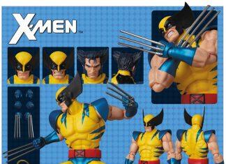 Mafex Action Figure Wolverine Comic Version