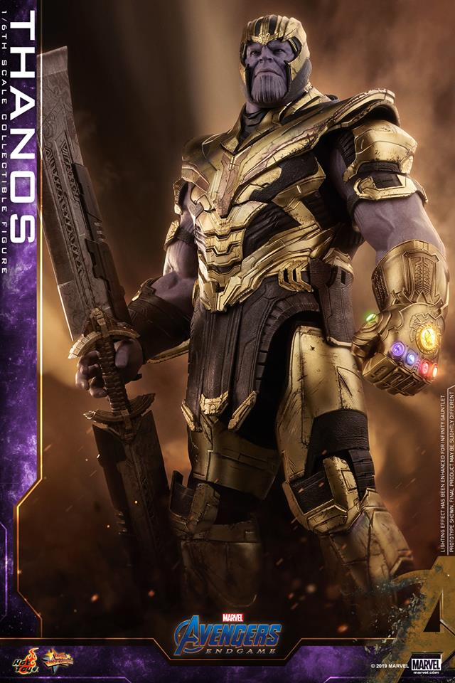 Hot Toys Avengers Endgame Thanos Action Figure