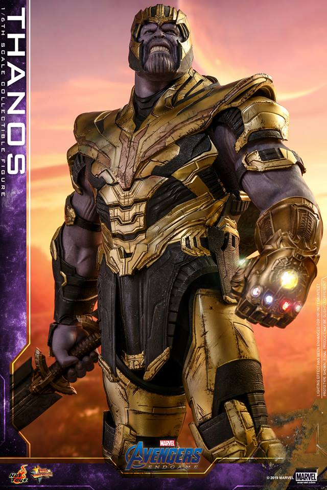 Hot Toys Avengers End Game Thanos Action Figure