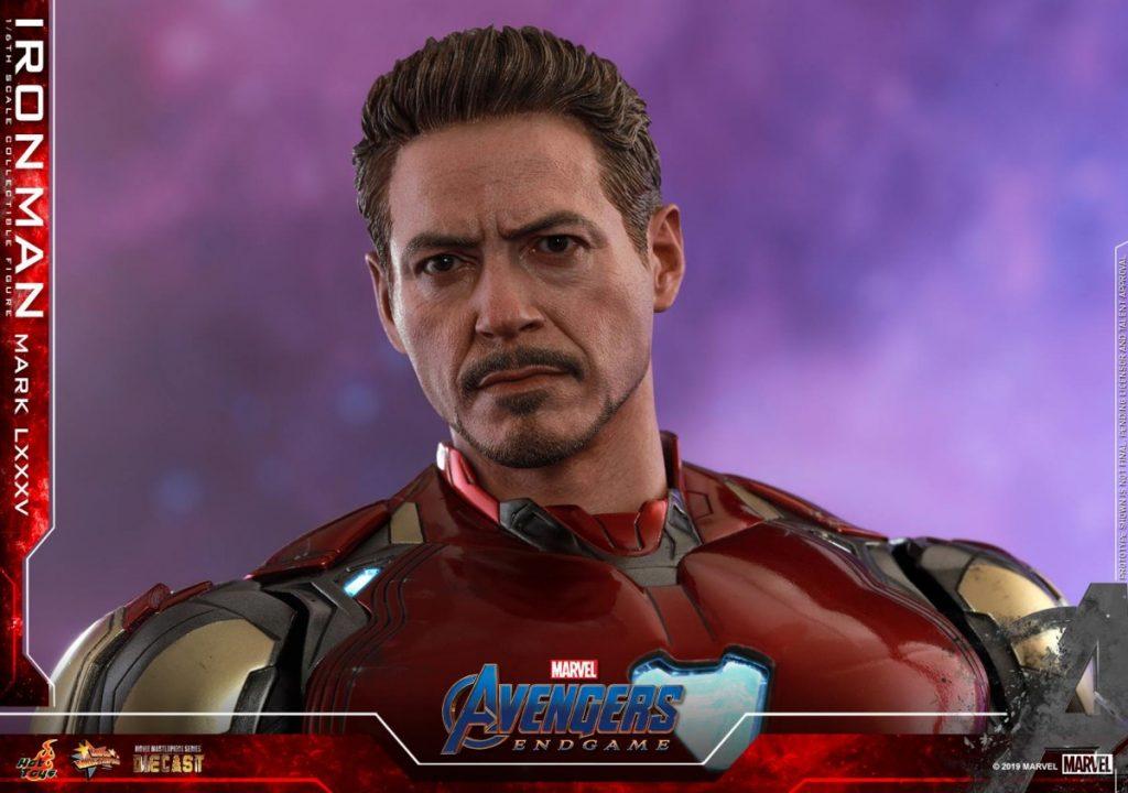 Hot Toys Avengers Endgame Iron Man Mark LXXXV Action Figure