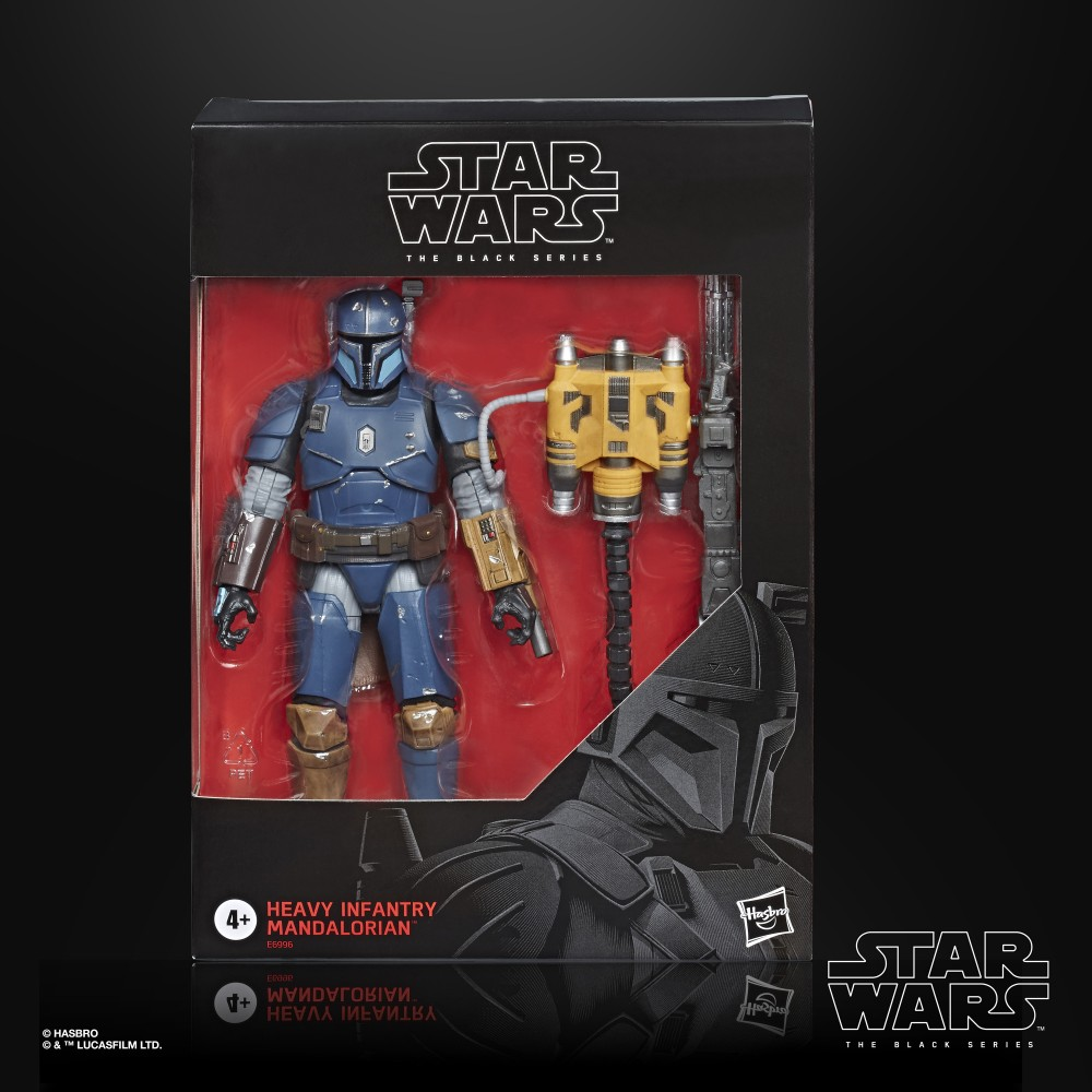 Hasbro Star Wars The Black Series Heavy Infantry Mandalorian BestBuy Exclusive