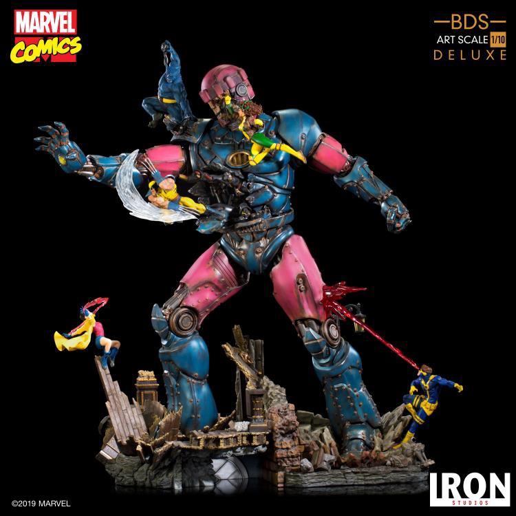Iron Studios first X-Men Vs Sentinel Deluxe Battle Diorama Series Statue