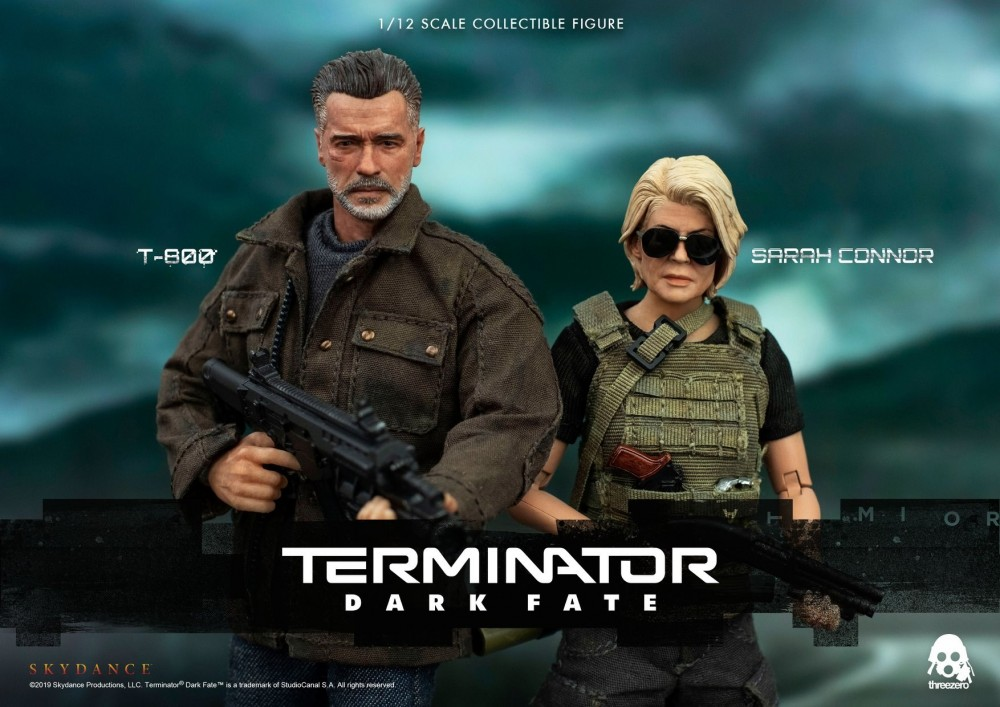 ThreeZero Sarah Connor & T-800 [Terminator: Dark Fate]