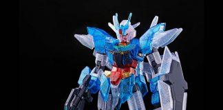 HGBDR Earthree Gundam Dive Into Dimension Clear
