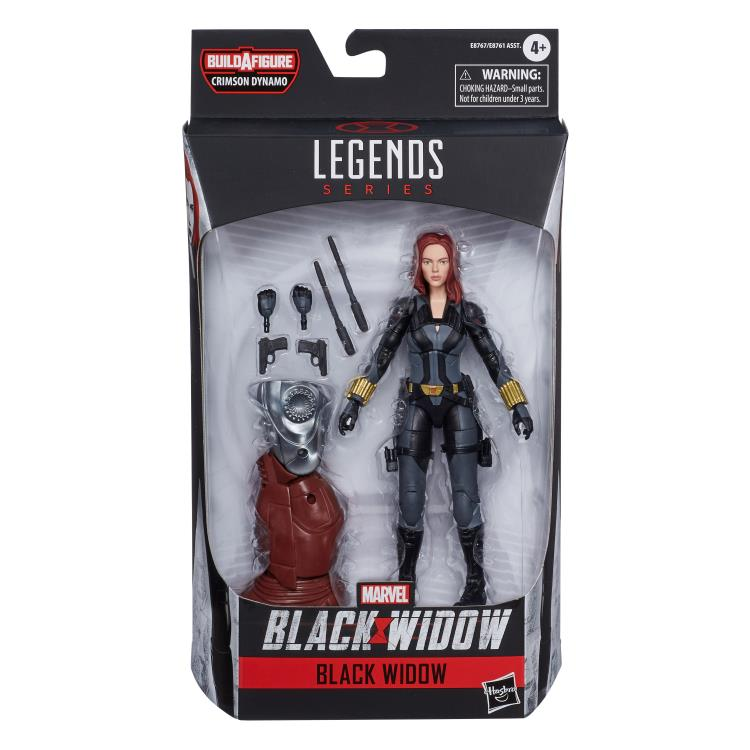Marvel Legends Black Widow Crimson Dynamo baf