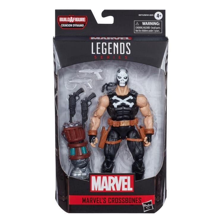Marvel Legends Crossbones Crimson Dynamo baf