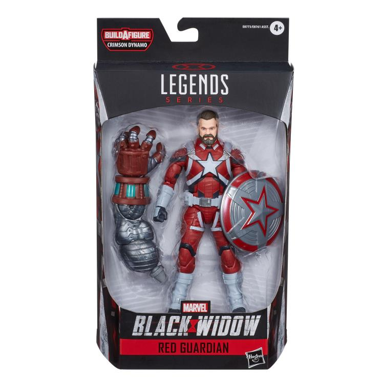Marvel Legends Red Guardian Crimson Dynamo baf