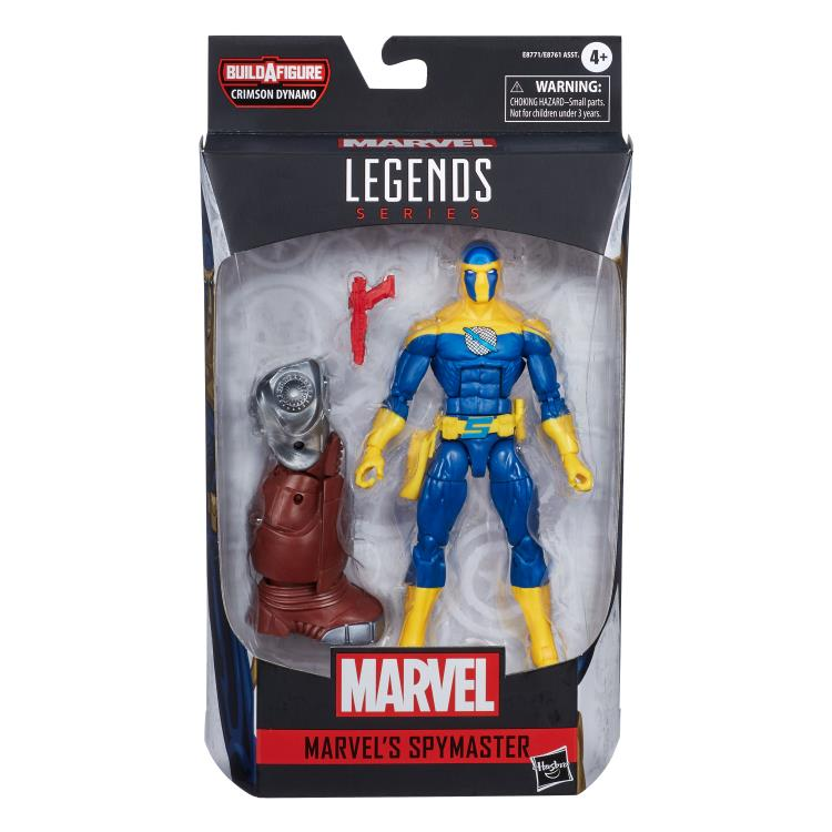 Marvel Legends Spymaster Crimson Dynamo baf
