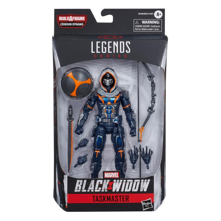 Marvel Legends Taskmaster Crimson Dynamo baf