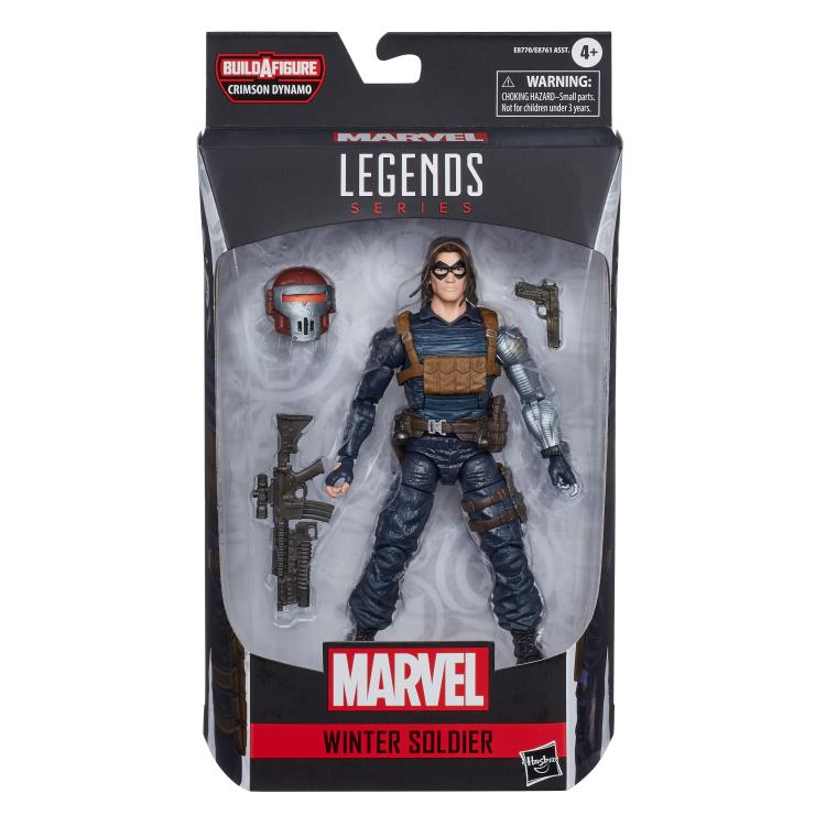 Marvel Legends Winter Soldier Crimson Dynamo baf