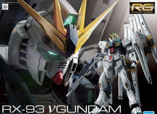 RG 1/144 RX-93 Nu Gundam Model kIts