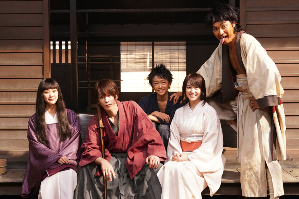 Rurouni Kenshin Final Chapter Main Cast