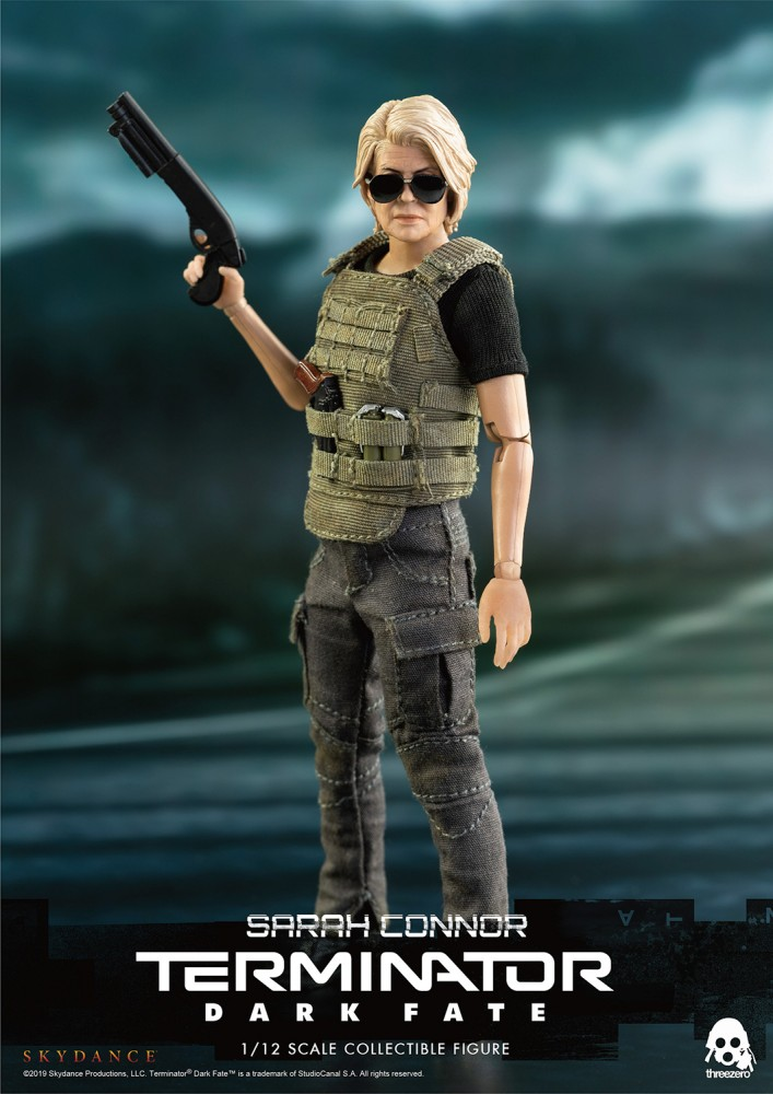 Threezero Sarah Connor Terminator Dark Fate 6 inch Figure