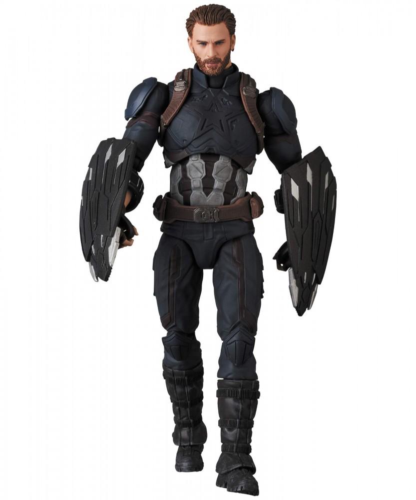 Mafex Captain America Avengers Infinity War Ver