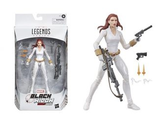 Marvel Legends Black Widow Deadly Origin white suit Exclusive Comic Version