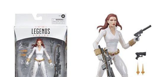 Marvel Legends Black Widow Deadly Origin white suit Exclusive Comic Version