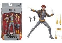 Marvel Legends Black Widow Grey suit [Exclusive Comic Version]