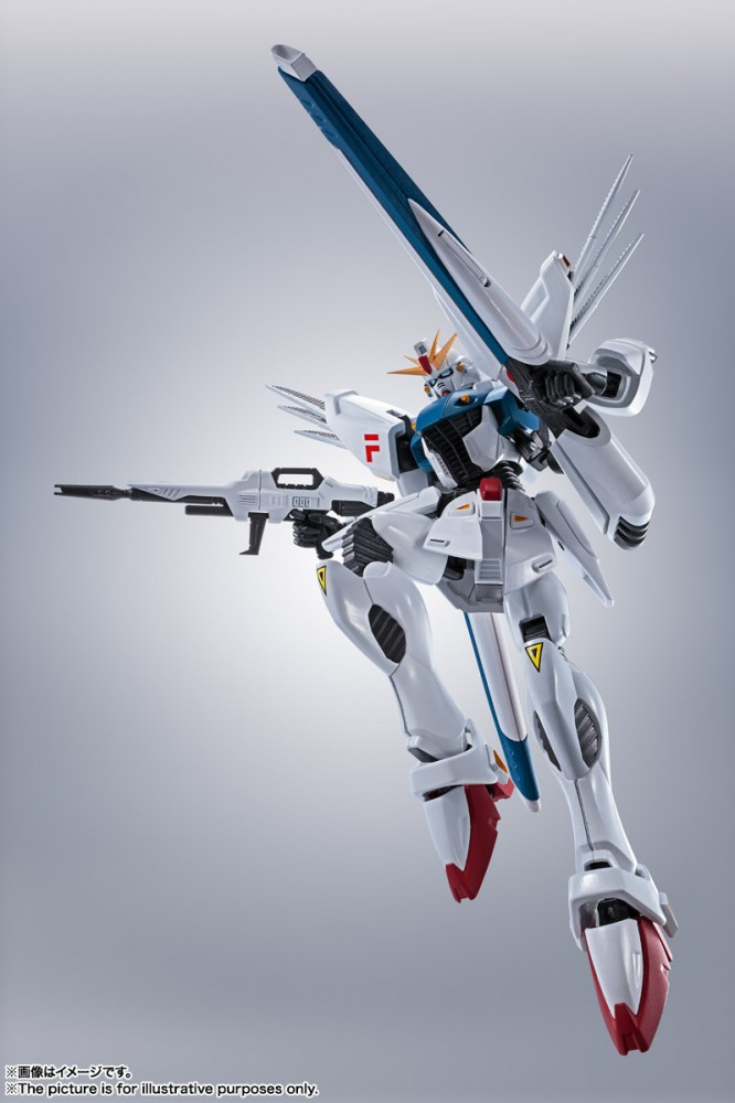 Robot Spirits Side MS Gundam F91 Evolution-Spec