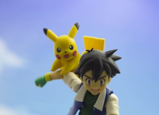 Ash With His Best Friend
