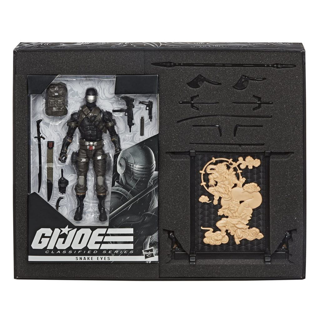 G.I. Joe Classified Series Snake Eyes Deluxe Hasbro Pulse Exclusive