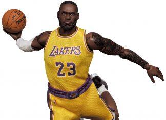 Mafex Series No.127 LeBron James (L.A. Lakers)