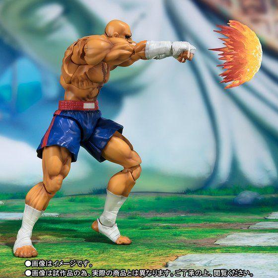 S.H.Figuarts Sagat [Street Fighter V]