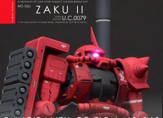 HG MS-06S Zaku The Origin by Turbin Factory