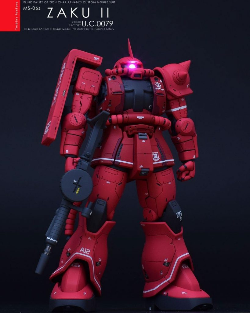 HG MS-06S Zaku The Origin by Turbin Factory