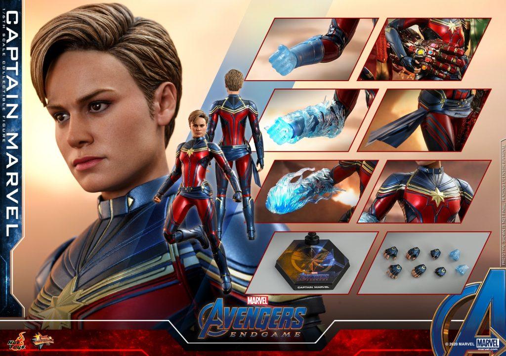 Hot Toys 1/6th scale Captain Marvel [Avengers: Endgame]