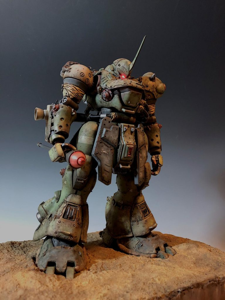 MG 1/100 MS-18E Kampfer Repaired Custom Work by baby19730911