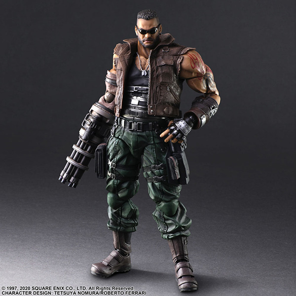 Play Arts Kai Barret Wallace Version 2 [Final Fantasy VII Remake]