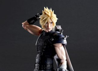 Play Arts Kai Cloud Strife Version 2 [Final Fantasy VII Remake]