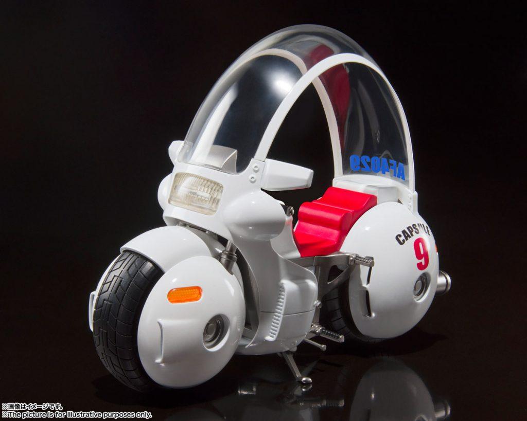 S.H.Figuarts Bulma's Bike Capsule No.9 [Dragon Ball Z]