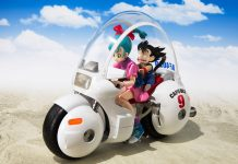 S.H.Figuarts Bulma's Bike Capsule No.9 [Dragon Ball Z]