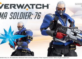 Figma 475 Soldier: 76 [Overwatch]