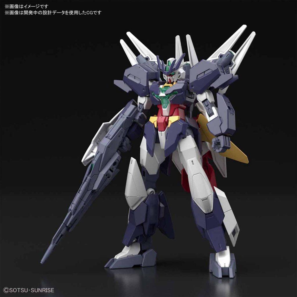 HGBD:R 1/144 Uraven Gundam