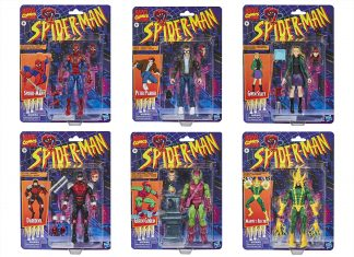 Marvel Legends Series Spider-Man Retro Wave Collection