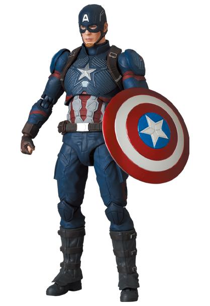 Mafex Series No.130 Captain America [Avengers: Endgame Ver.]