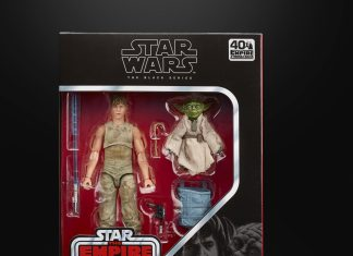 Star Wars: The Black series Luke Skywalker & Yoda (Jedi Training)