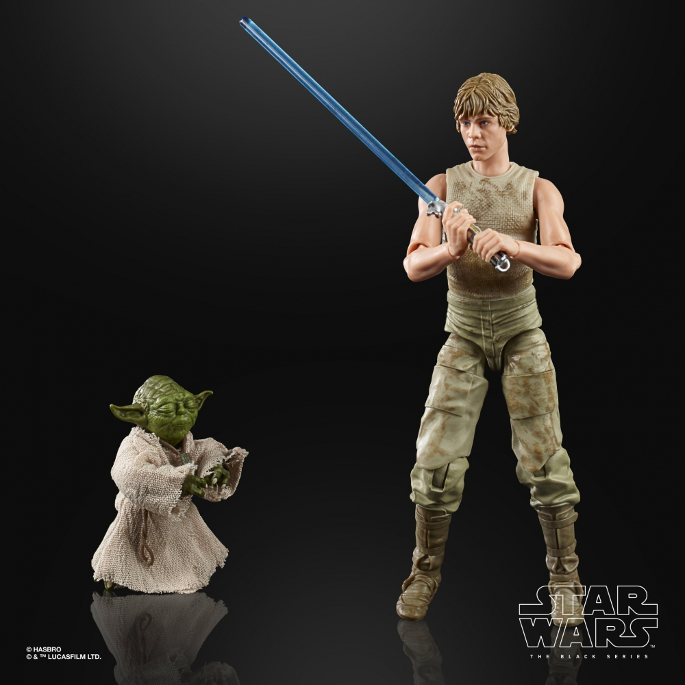 Star Wars: The Black series Luke Skywalker & Yoda (Jedi Training)