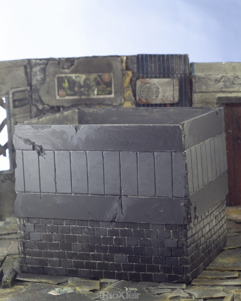 Storage Box Rooftop Diorama