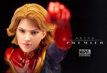 ARTFX Premier 1/10 Scale Captain Marvel [Marvel Universe]